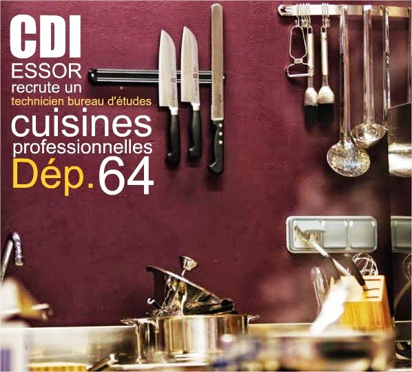 essor recrute un technicien bureau d 39 tudes cuisine professionnelle 64 en cdi essor. Black Bedroom Furniture Sets. Home Design Ideas