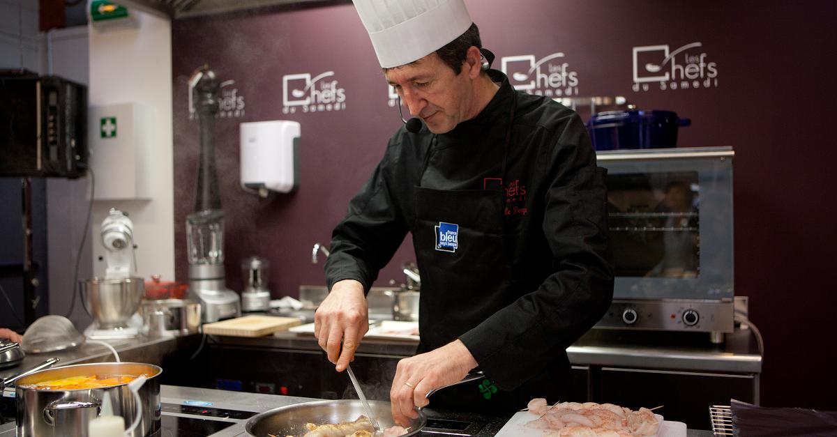 Cours de cuisine par Christophe Le Borgne