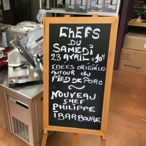 Cours de cuisine Ibarboure