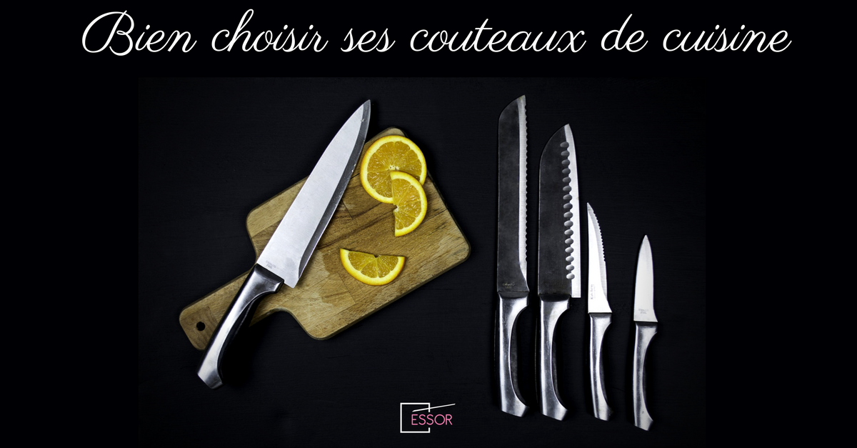 Comment bien choisir ses couteaux de cuisine essor for Type de couteau cuisine