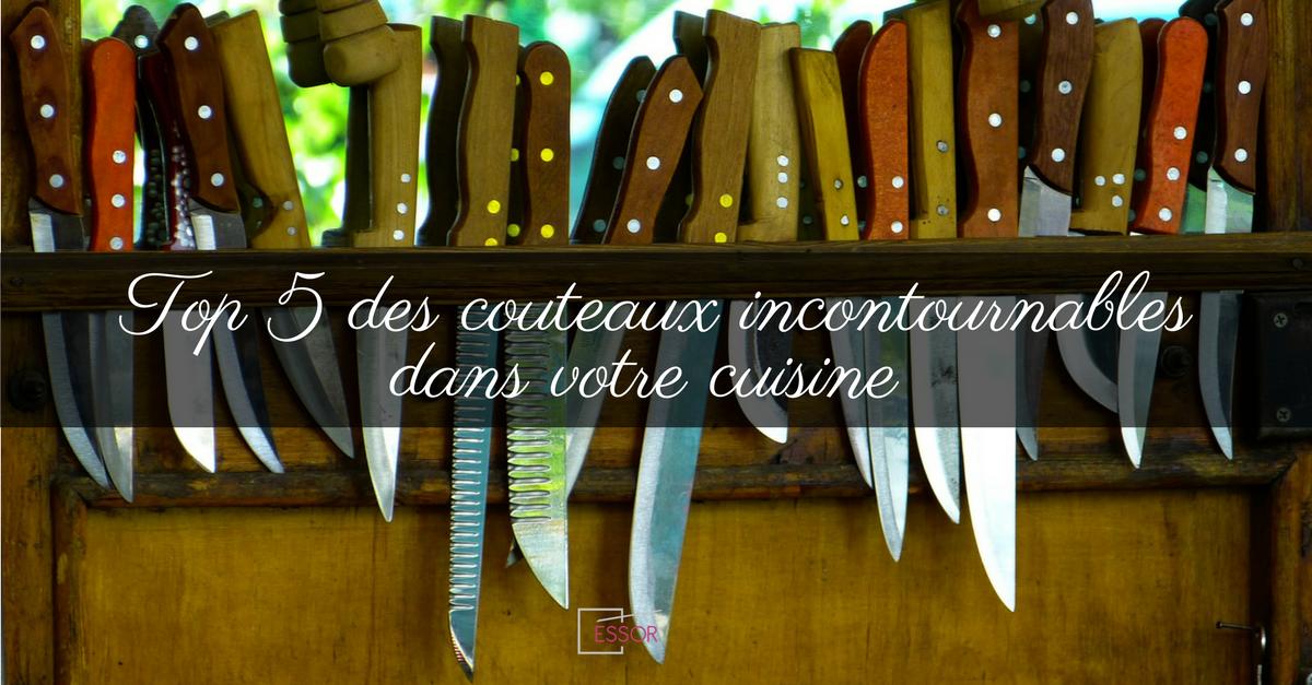 couteaux cuisine