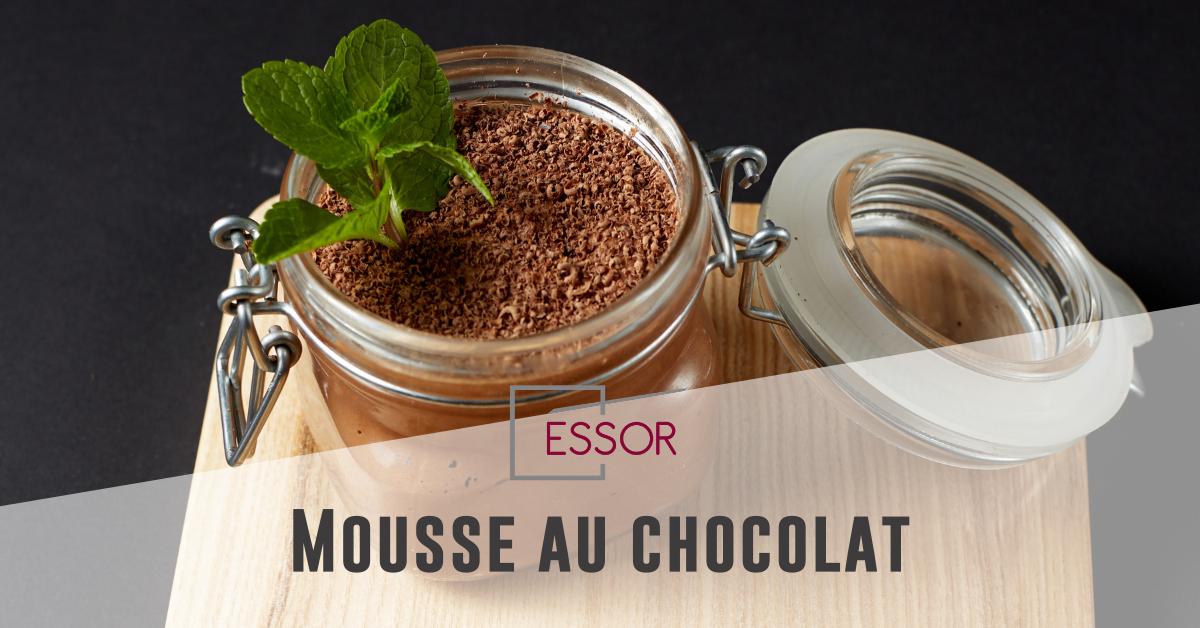 mousse au chocolat recette ESSOR