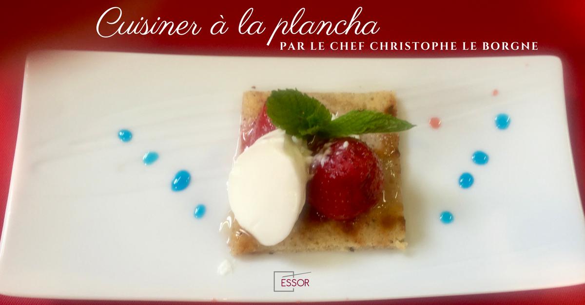 Cuisine la plancha par le chef christophe le borgne essor - Cuisine a la plancha ...