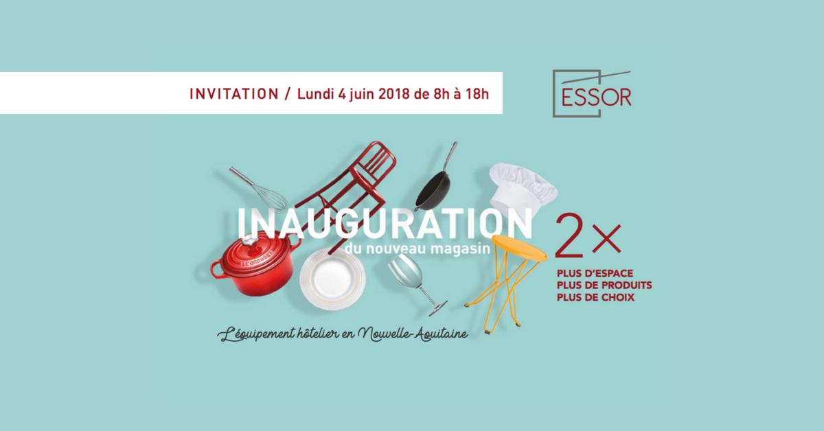 Essor Bordeaux Inauguration Juin 2018