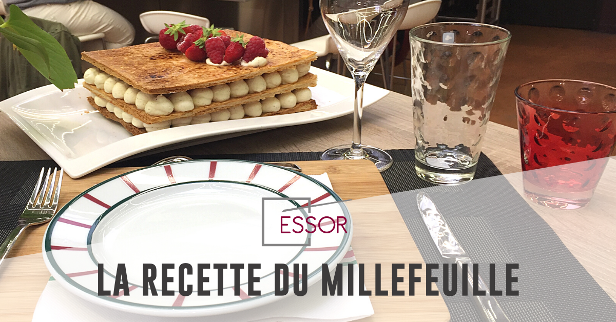 Millefeuille recette