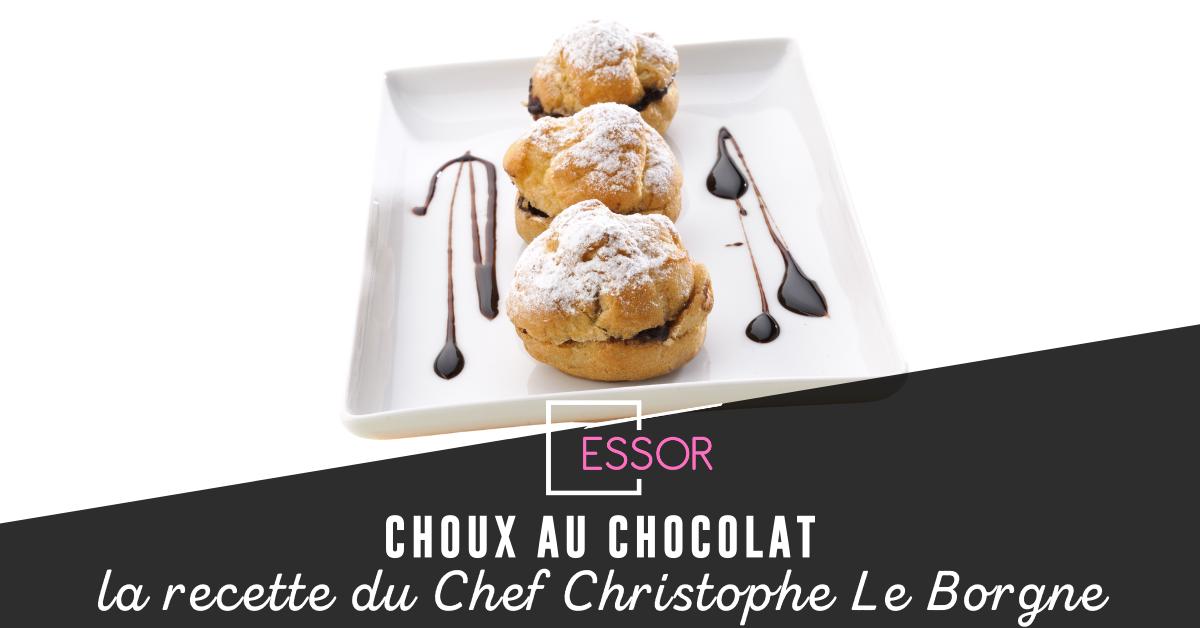 Choux au chocolat recette Essor