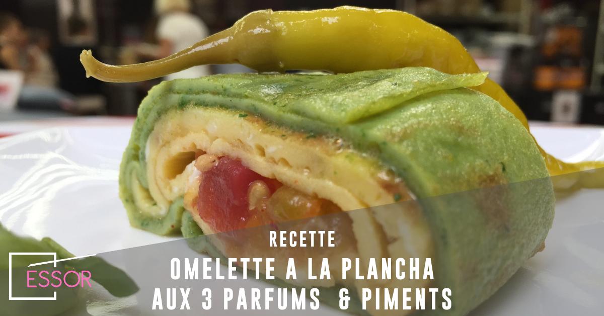 omelette à la plancha